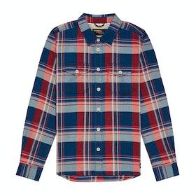 O'Neill Echo Boys Shirt - Blue Aop