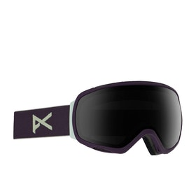 Masque de snow Femme Anon Tempest - Purple ~ Sonar Smoke