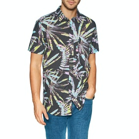 Rip Curl Glitch Short Sleeve Shirt - Black