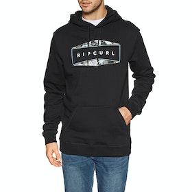 Rip Curl Neon Fleece Pullover Hoody - Black