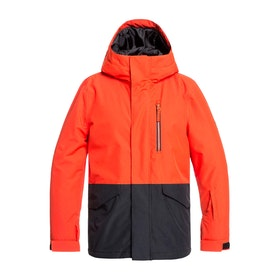 Quiksilver Mission Boys Snow Jacket - Poinciana