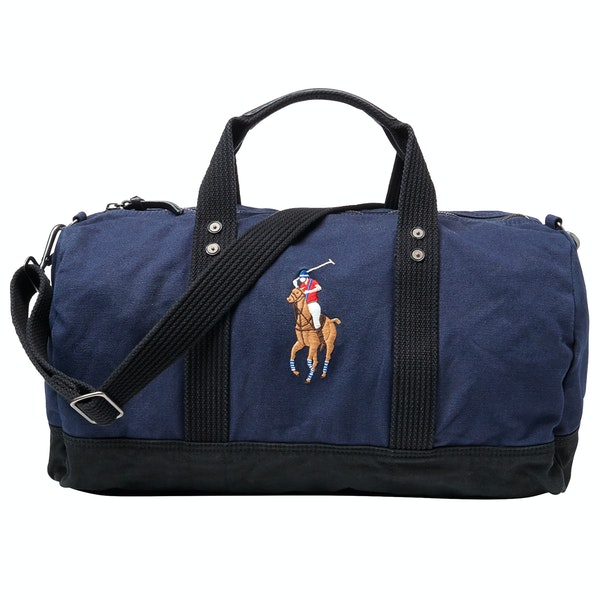 Polo Ralph Lauren Canvas Big Pony Duffle Bag