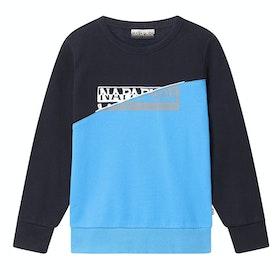 Napapijri K Baky H Kid's Sweater - Blu Marine