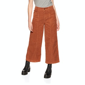 Element Wide Awake Womens Trousers - Ginger Bread