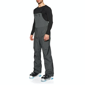 Pantalons pour Snowboard Patagonia Snowdrifter Bibs - Forge Grey