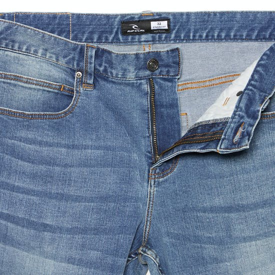 Rip Curl Straight Salt Blue Jeans
