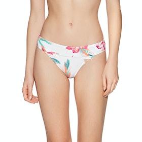 Bas de maillot de bain Femme Roxy Lahaina Bay Moderate - Bright White Tropic Call