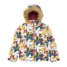 Billabong Sula Girls Snow Jacket - Golden Glow