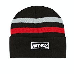 Method Lines Beanie - Black Grey Red