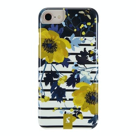 Joules Vq iPhone 6/7/8 Phone Case - Joules Winter Camelia Border
