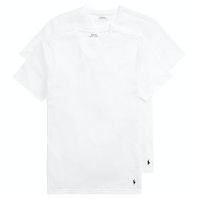 Polo Ralph Lauren Cotton 2 Pk Loungewear Tops - 2pk White/white