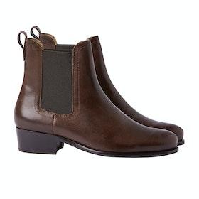 Joules Stamford Women's Boots - Dark Chocolate