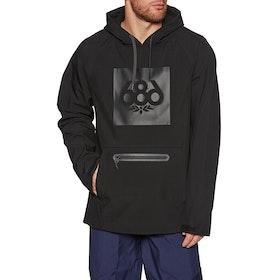 686 Waterproof Hoody Snow Jacket - Black