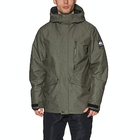 Quiksilver Mission Snow Jacket - Grape Leaf