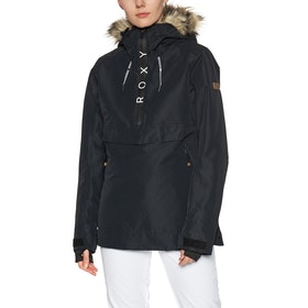 Roxy Shelter Womens Snow Jacket - True Black