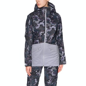 Patagonia Insulated Snowbelle Snowboardjakke - Maple Camo: Smokey Violet