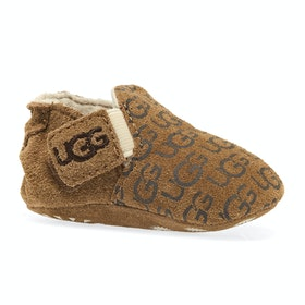 UGG Roos Baby Slippers - Chestnut