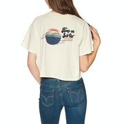 Rip Curl Keep On Surfin Crop Short Sleeve T-Shirt