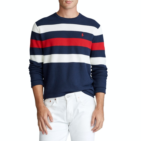 Polo Ralph Lauren Pima Cotton Stripe Sweater