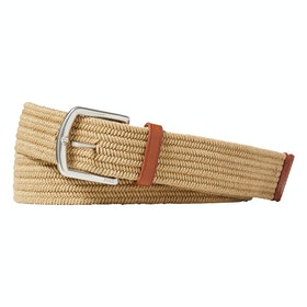 Pas internetowy Polo Ralph Lauren 34mm Braided Fabric Stretch Blt - Timber Brown