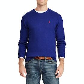 Maglione Polo Ralph Lauren Cotton Long Sleeve - Blue