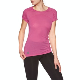 Mons Royale Bella Tech Tee Womens Base Layer Top - Punk Baby