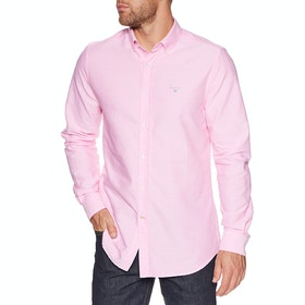 Barbour Oxford 3 Tailored Mens Shirt - Pink