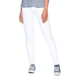 Barbour Essential Slim Women's Jeans - White