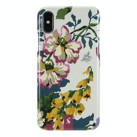 Joules Vq iPhone X/xs Phone Case - Joules Cambridge Floral Cream