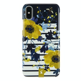 Joules Vq iPhone X/xs Phone Case - Joules Winter Camelia Border