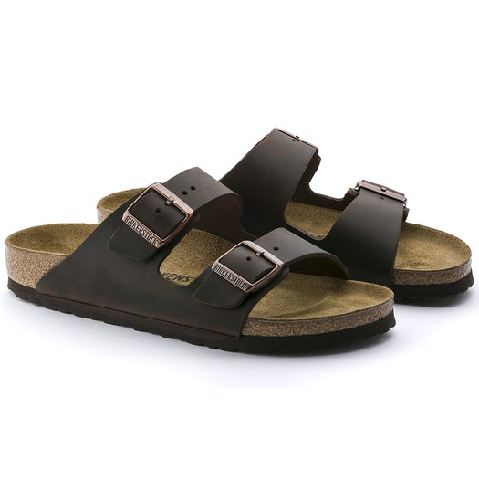 Birkenstock Arizona Oiled Leather Narrow Сандалии
