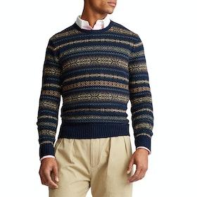 Maglione Polo Ralph Lauren Cotton Blend - Navy