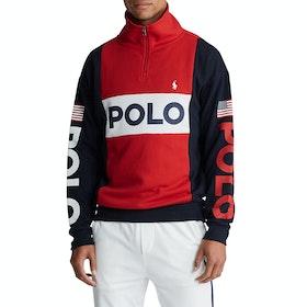 Maglione Polo Ralph Lauren Logo Pullover - Red/Multi