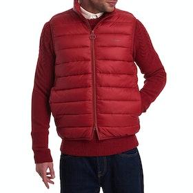Barbour Bretby Quilted Men's Gilet - Crimson