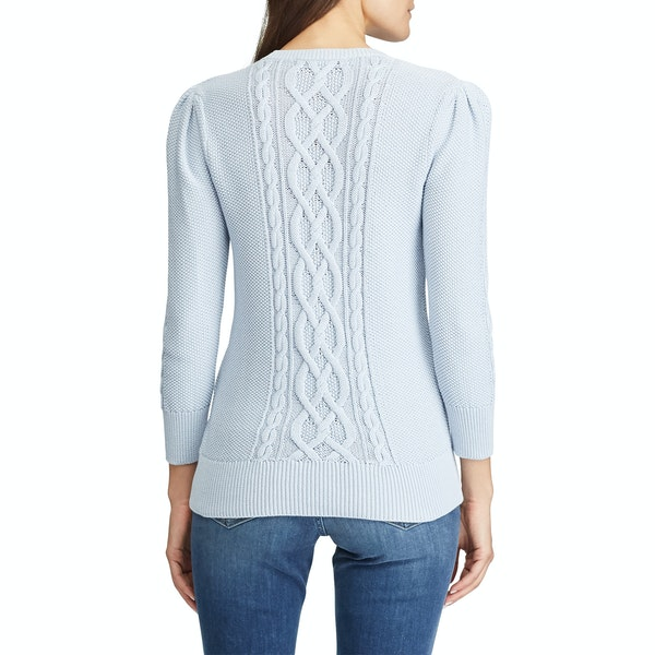 Lauren Ralph Lauren Tishari 3/4 Sleeve Women's Sweater