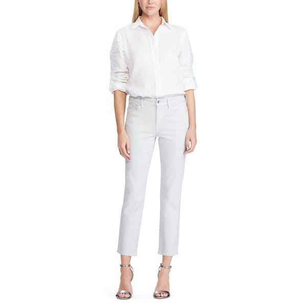 Ralph Lauren Premier Straight Ankle , Jeans Dam