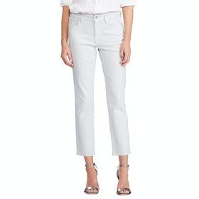 Lauren Ralph Lauren Premier Straight Ankle Women's Jeans - Pearl Sky Wash
