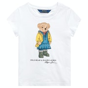 Polo Ralph Lauren Bear Knit Girl's Short Sleeve T-Shirt