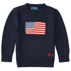 Polo Ralph Lauren Flag Junior Knits - Hunter Navy