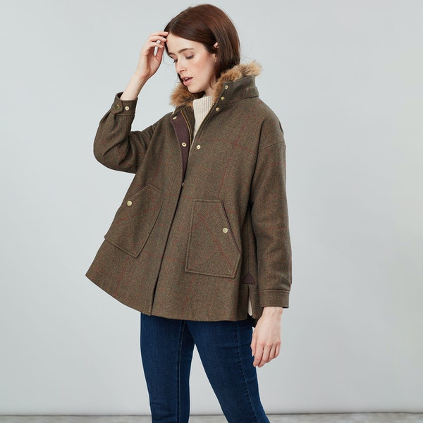Joules Carolyn Kvinner Tweed Jackets