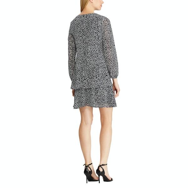 Lauren Ralph Lauren Print Georgette Dress