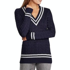 Lauren Ralph Lauren Meren Sweater - Lauren Navy/silver
