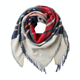 Joules Wilstow Womens Scarf - Creme Stripe