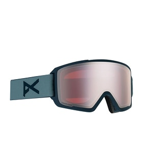 Anon M3 With Spare Lens Snow Goggles - Gray ~ Sonar Silver