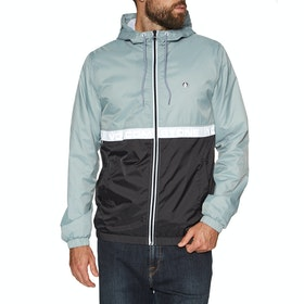 Volcom Ermont Windproof Jacket - Cool Blue