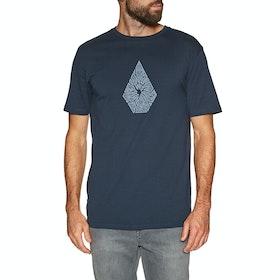 Volcom Shatter , Kortermet t-skjorte - Navy