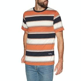 Volcom Chromatic Crew , Kortermet t-skjorte - Burnt Orange