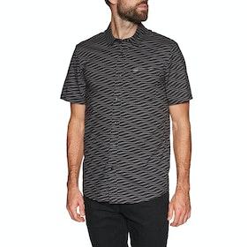 Volcom Levstone Vibes , Kortermet skjorte - Dark Charcoal