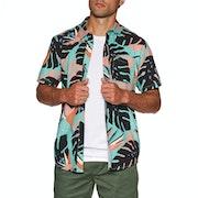 Volcom Mentawais Overhemd Korte Mouwen