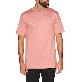 Volcom Pinner Hth Ss , Kortermet t-skjorte - Sandstone